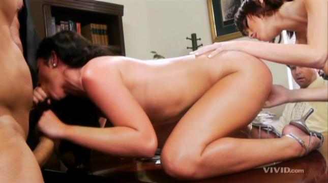 Vivid parody old ben uses the sexual force with a hot slave girl